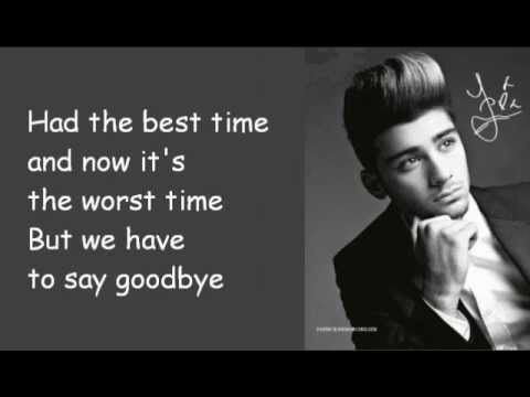 <3 we'll miss having you in one direction. IM REALLY GONNA MISS YOU ZAYN I HOPE YOU HAVE A GREAT LIFE THO!!!!!!!!