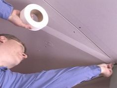 How to install drywall ceilings.