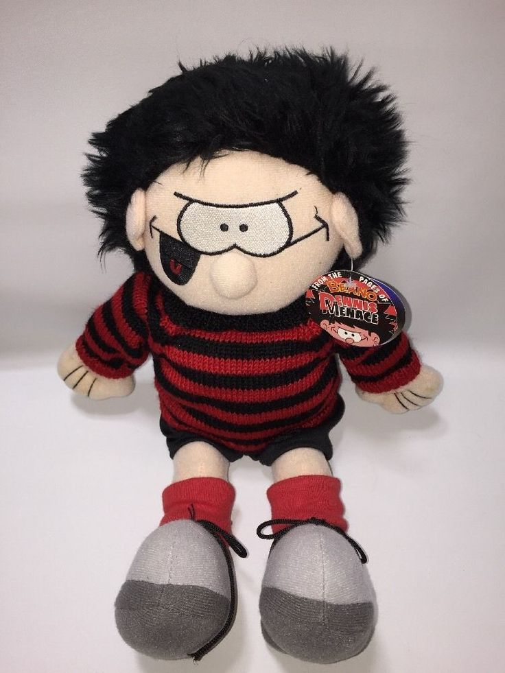 Dennis The Menace Soft Toy Plush 8th wonder with tags  EXC in Toys & Games, Soft Toys & Stuffed Animals, Branded Soft Toys | eBay!