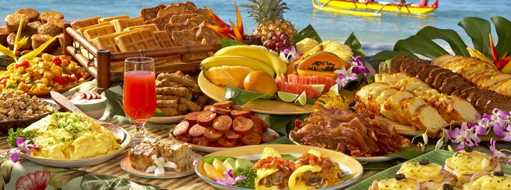 how to eat healthy at a brunch buffet