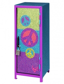 Bling Peace Mini Locker | Organization | Room Accessories | Shop Justice