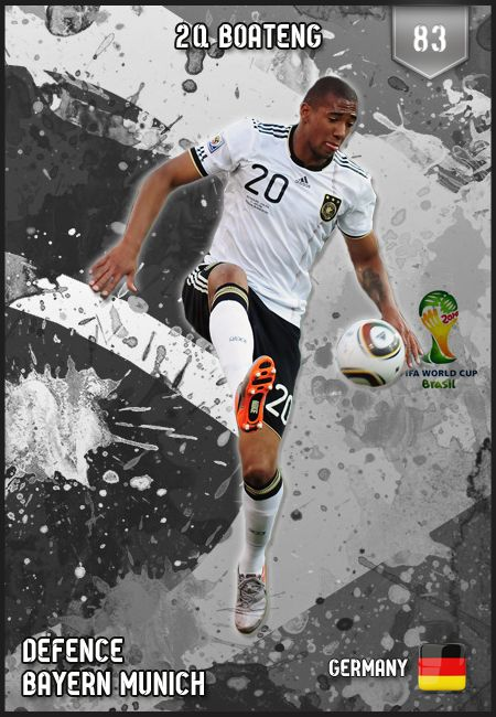 #JeromeBoateng Germany FIFA World Cup 2014 Lineup