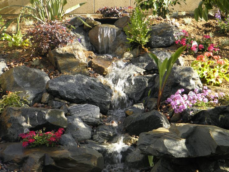 Waterfall Landscape Design Ideas contemporary waterfall design idea Landscape Waterfall Google Search