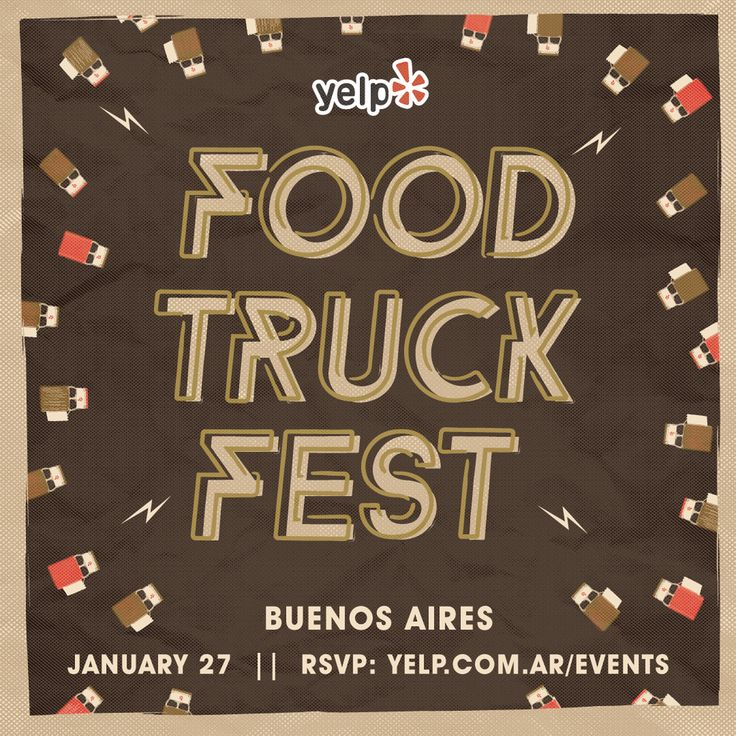Yelp's Food Truck Fest - Buenos Aires