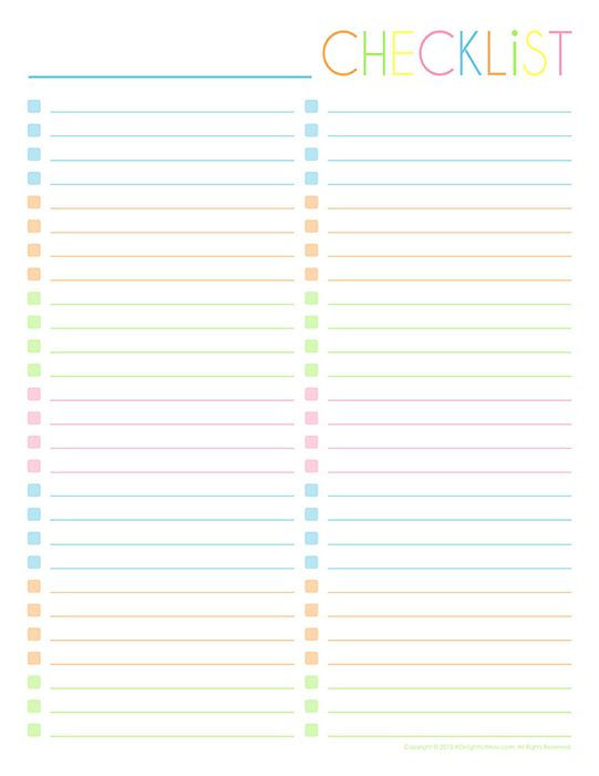To-Do & Notes Printables Gallery