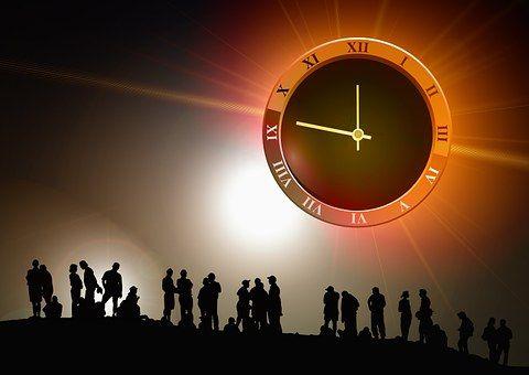 Az Emberi, Csoport, Óra, Idő