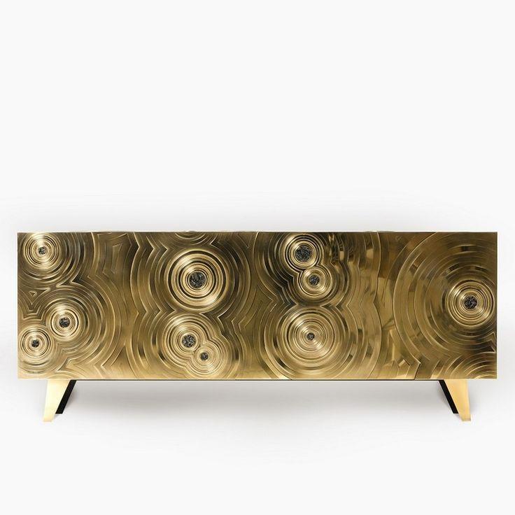Skulpturale Buffets und Schränke von Erwan Boulloud | #wohnideen #einrichtungsideen #Schönerwohnen #wohnzimmerideen #desiginspirationen #luxus #teuer #möbel #wohnzimmergestalten