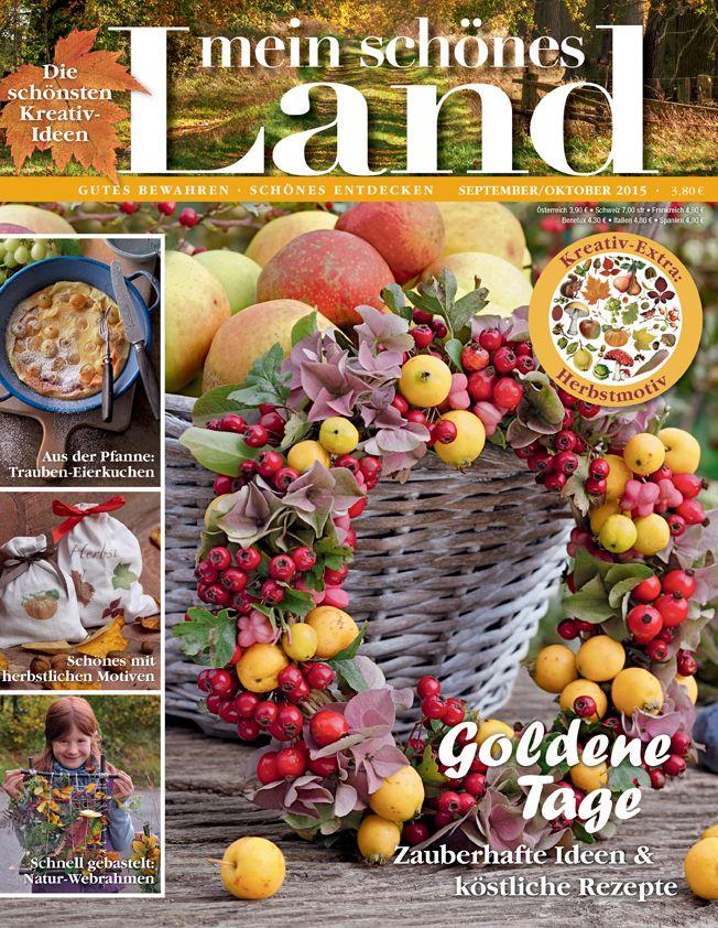 Schönes Landleben Zeitschrift 56 besten unsere hefte bilder auf mein schönes landhaus