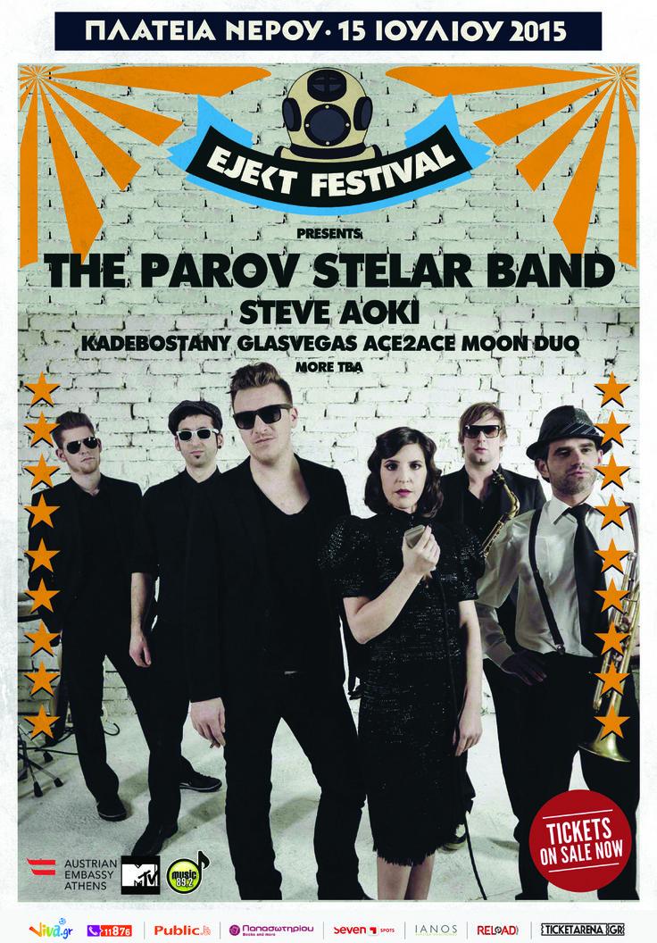 The Parov Stelar Band at Ejekt Festival (2015)