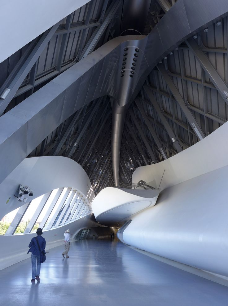 Bridge Pavilion - Expo 2008 en Zaragoza, designed by Zaha Hadid / Photographs: Ying-Jia, Cheng