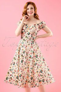 Collectif Clothing Dolores Doll Dress 102 57 18192 20160425 2W