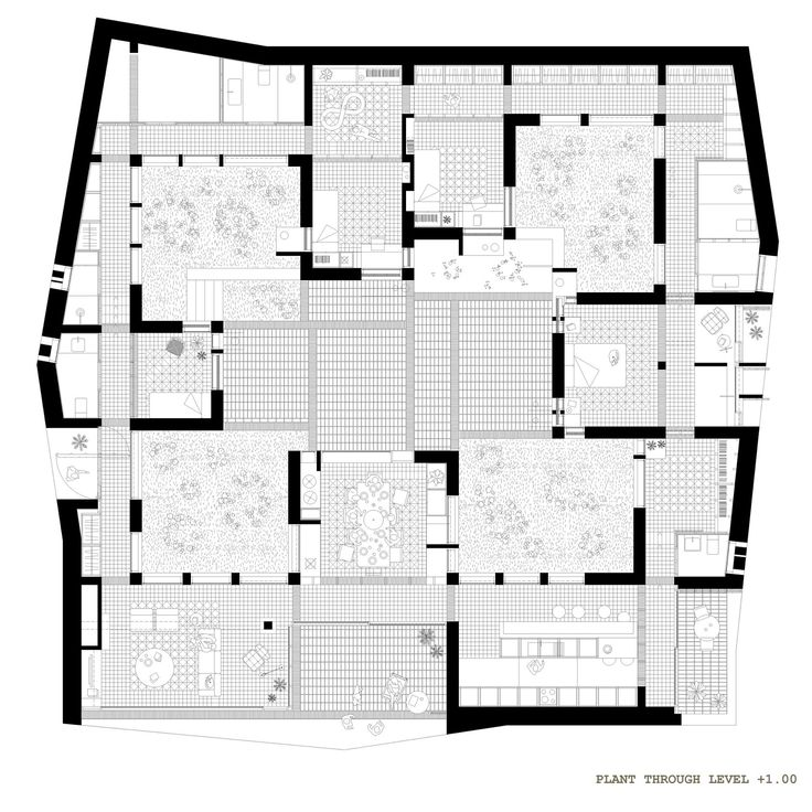 Architecture Blueprints House 222 best square plans images on pinterest | arches, floor plans
