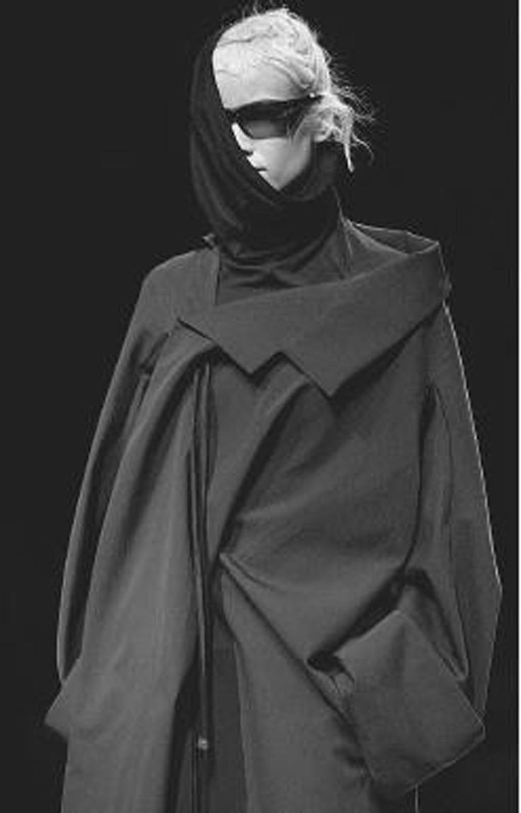 Yohji Yamamoto; sorry Yohji, but it is just bizarre. kn