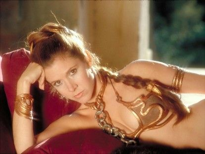 Film's 30 Hottest Lingerie Scenes: 'Star Wars: The Return of the Jedi'