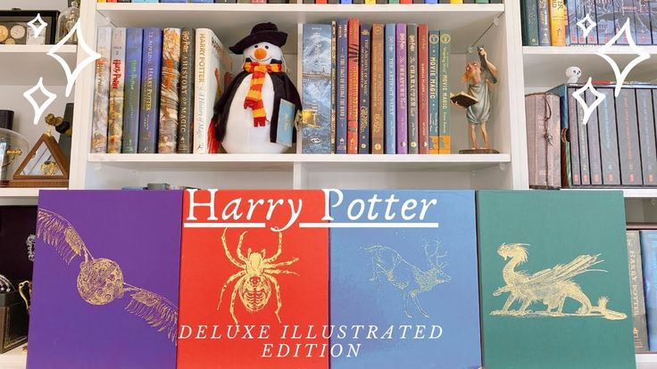 Harry potter deluxe illustrated edition books by jim kay