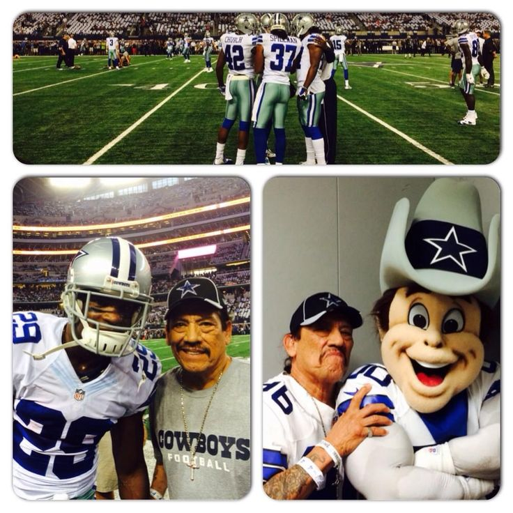Danny Trejo visited AT&T Stadium for the Cowboys vs. Saints game!