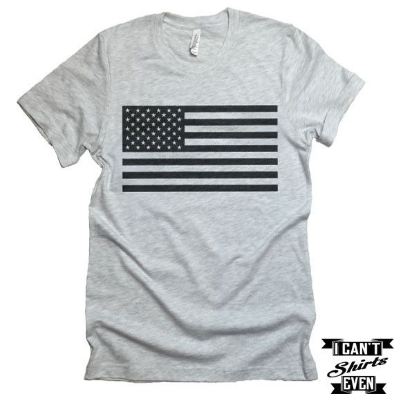 American Flag T-shirt. Merica Shirt. USA. Patriotic Unisex Tee. USA Shirt