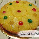 En van de populairste Antilliaanse taarten de BOLO DI ANASA  recept httpbitlybHTjTgbolodianasa ananas taart gekleurde kersjes fijnweekend