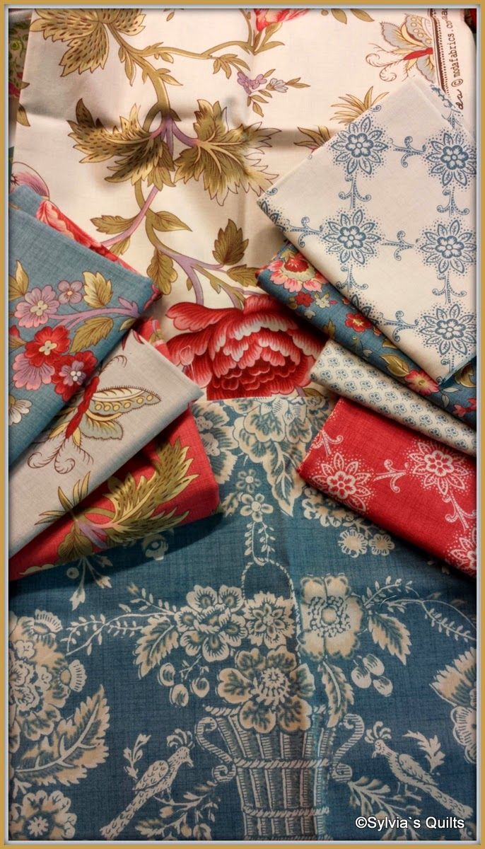 SYLVIA'S QUILTS - Le bouquet francais By French General