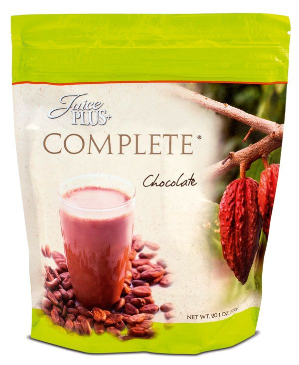 COMPLETE Chocolate-Juice PLUS +® - Nahrungsergänzungsmittel aus Obst und Gemüse - JuicePLUS+®  www.juiceplus.com/+borzikowski2975d