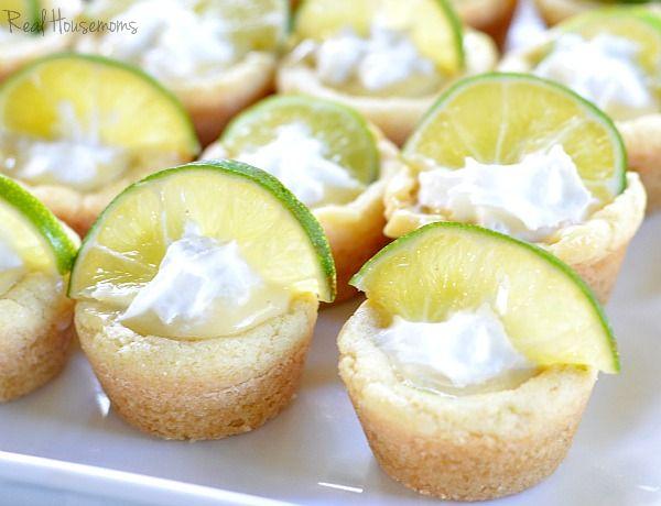 Key Lime Pie Cookie Cups | Real Housemoms