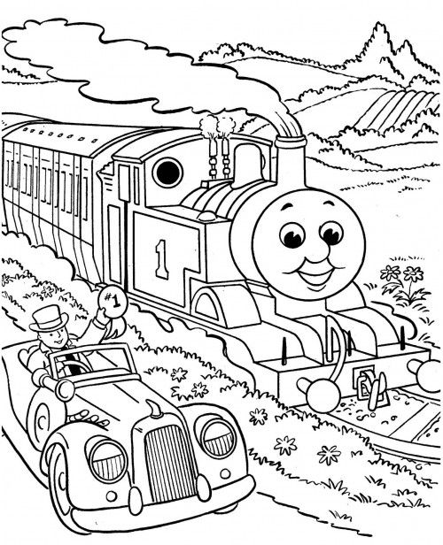 two thomas coloring page thomas coloring pages kids coloring pages
