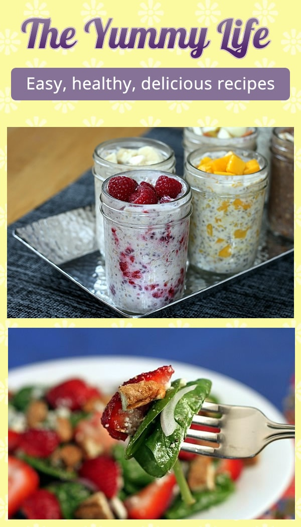 A website with tons of easy, healthy, and delicious recipes. The oatmeal smoothies look delicious