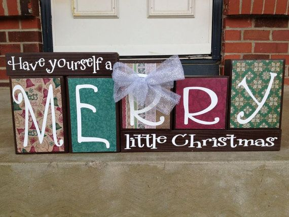 Best 25+ Christmas blocks ideas on Pinterest | Christmas wood ...