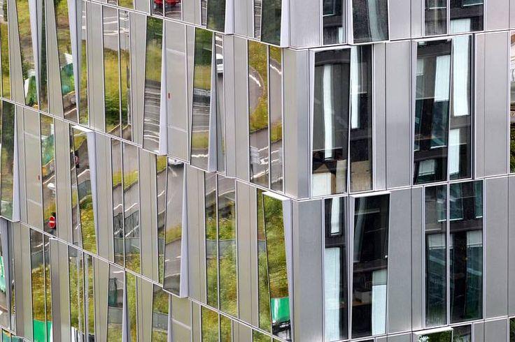 L'inauguration de l'immeuble de bureaux «Perspective» marque l'ultime implantation tertiaire dans le quartier Euralille 1, le 11 juillet.
