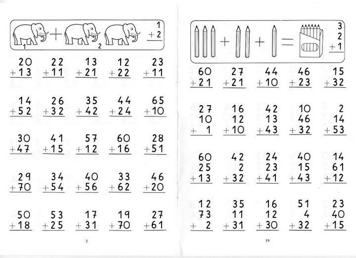 aprender a sumar ejercicios infantiles de matematicas infantiles de sumar para niños