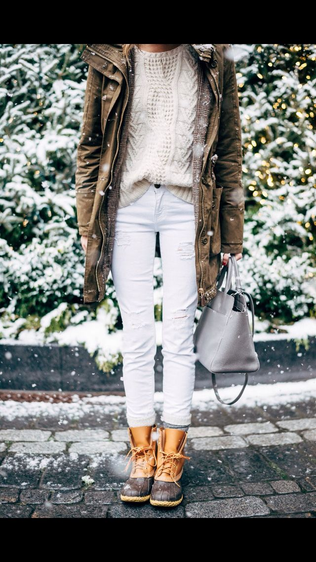 Bean boots style
