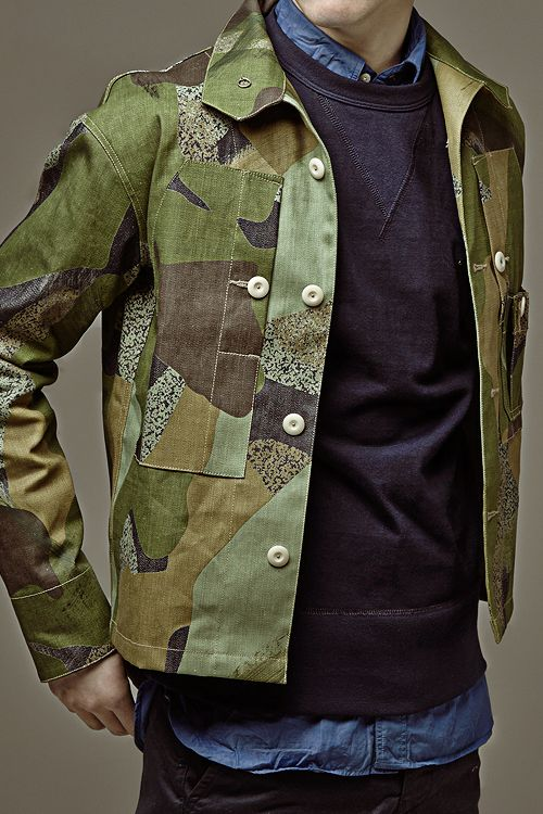 DREAM FASHION - freshkings:  Nigel Cabourn spring 2014 :  SHOP