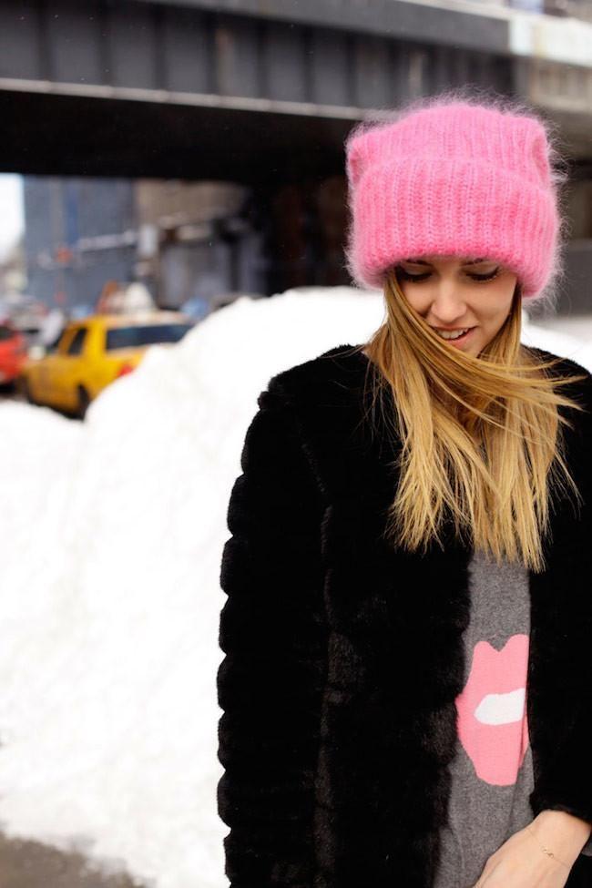 Los gorros de lana serán tendencia para esta temporada! ¿Cierto Chiara Ferragni?