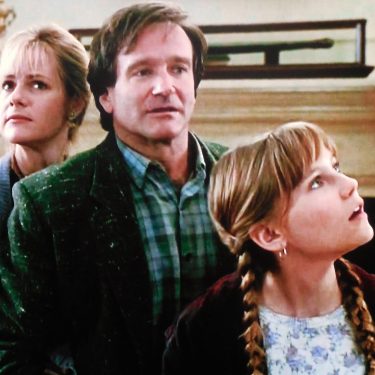 "Bonnie Hunt, Robin Williams and Kirsten Dunst ""Jumanji"" ('95)"