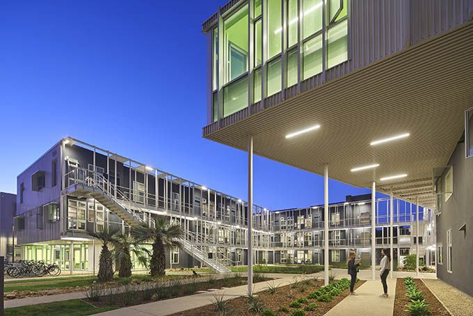 UCSB San Joaquin Student Housing by Lorcan O'Herlihy ...