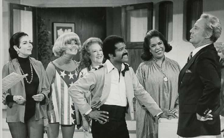 Ann Miller, Carol Channing, Ethel Merman, Ted Lange, Della Reese, and Van Johnson, TV's The Love Boat (1982)