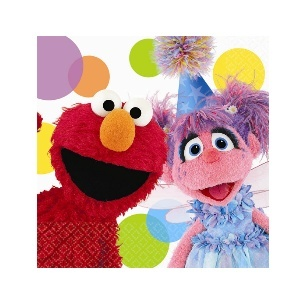Sesame Street Party Invitations.
