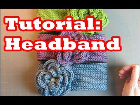"I'm Sheepishly Sharing a simple, sweet headband that could be created in any yarn craft! Instruction for an average woman's head (22"" around; 8"" from crown t..."