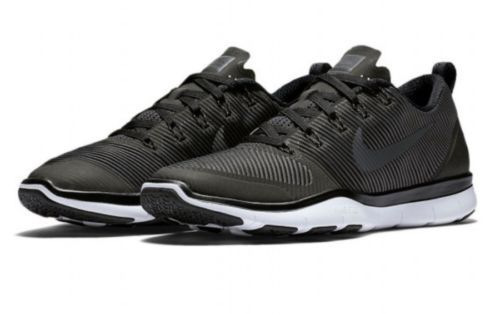 New Nike Men's Free Train Versatility TB Black Athletic Snickers Shoes Sz US 12