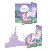Unicorn Fantasy Invitations (8pk) $10.50 20895603