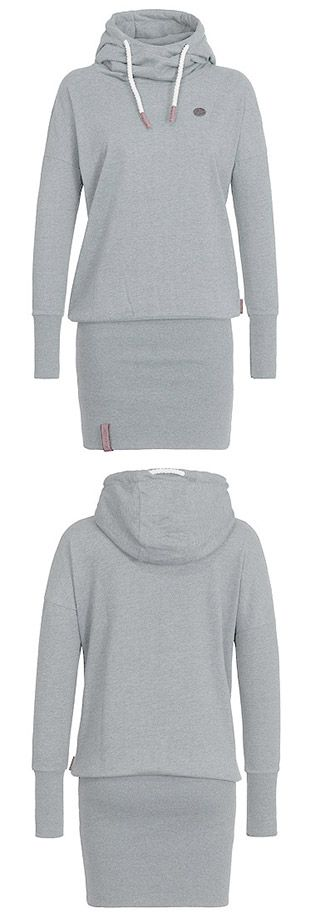 You deserve this. We just made all of your favourite. All Day Long Sweatshirt with a lined drawstring hood features hip package design. Up to 50% off at CUPSHE.COM !