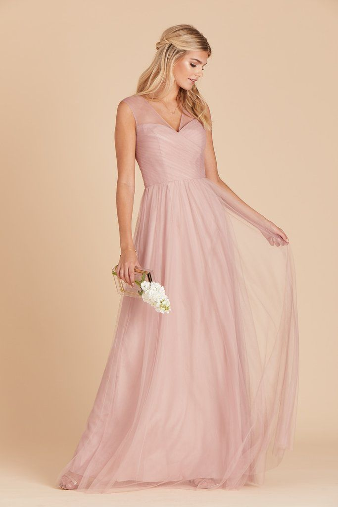 Lili Dress Rose Quartz | Rose bridesmaid dresses, Dusty