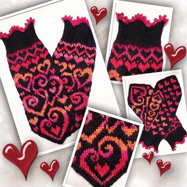 Ravelry: Burning Love pattern by JennyPenny