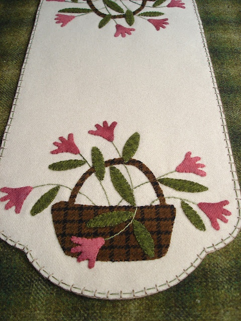 The Wooden Acorn Stitching Project - Pattern design by Primitive Gatherings