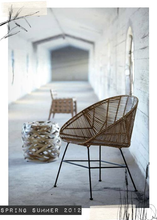 rattan + bamboo. from house doctor mag
