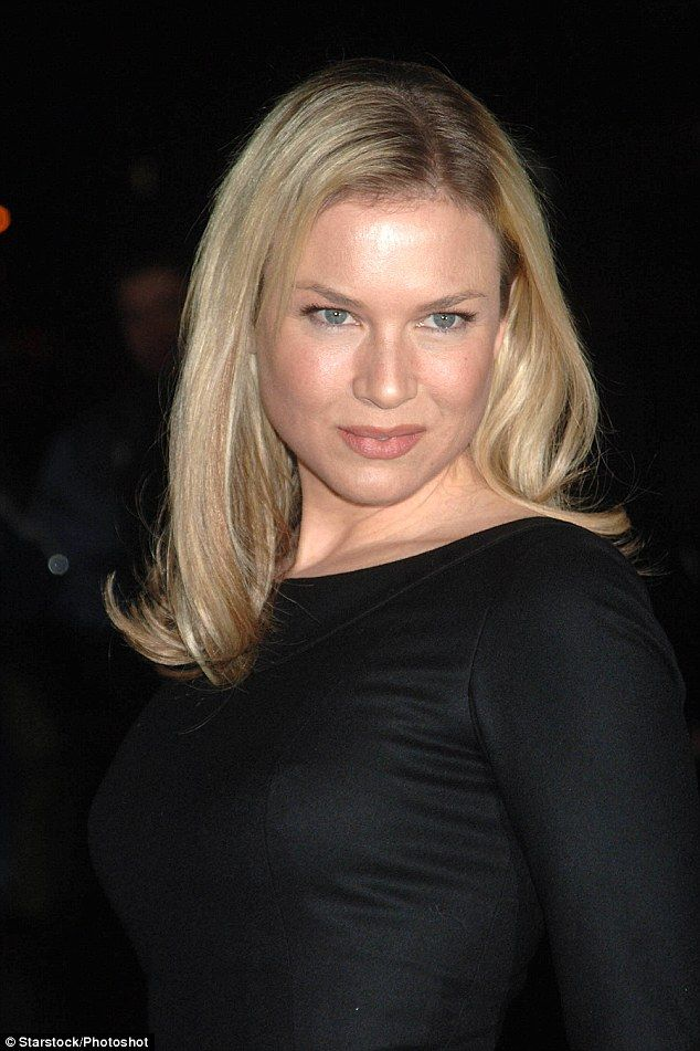 Glamour mode: Renee pictured in red carpet style as she attends The Late Show with David Letterman in 2006