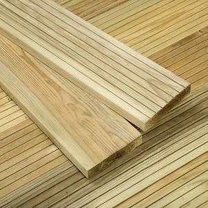 Wickes Value Deck Board 25 x 120mm x 1.8m | Wickes.co.uk