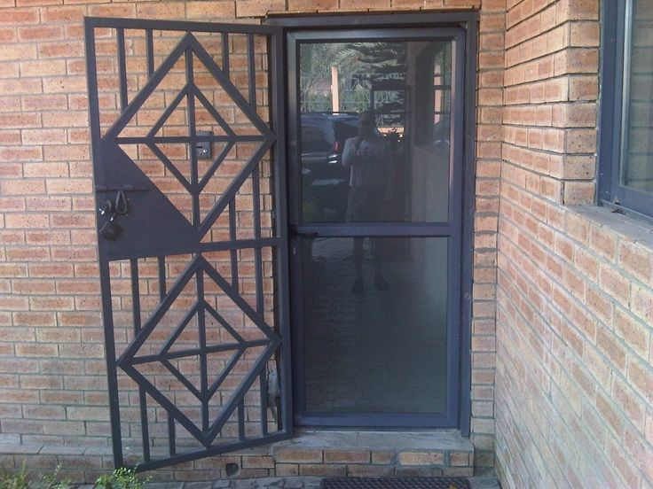 New Secure Front Entry Doors