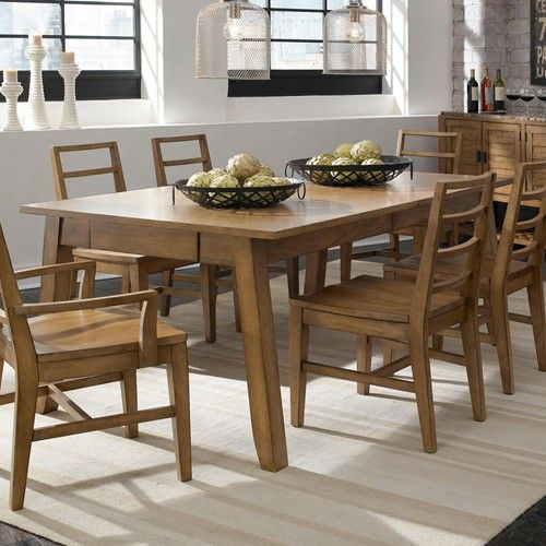Ember Grove Leg Dining Table With 2 Drawers And Cord Management By Broyhill Furniture