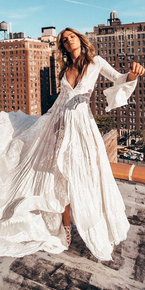 Bohemian Wedding Dress Ideas You Were Looking Wedding Dresses